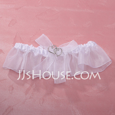 Simplicity organza with charm wedding garter skirt for Garter under wedding dress