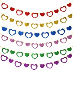 Heart Design Sponge Banner (20 pieces)