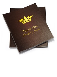 Personalized Classic Style Thank You Cards (Set of 50)