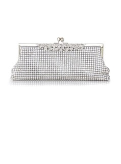 Gorgeous Crystal/ Rhinestone With Metal Clutches/Evening Handbags (012026988)