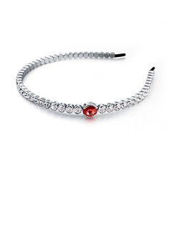 Hottest Rhinestone/Alloy/Silver Plated Headbands