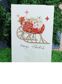 Christmas Style Greeting Cards (Set of 8 pieces)