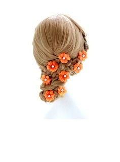 Special Artificial Silk Hairpins (Set of 2)