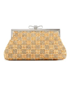 Elegant Rhinestone With Imitation Pearl Clutches