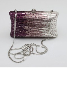 Shining Acrylic With Acrylic Jewels Clutches/Wristlets/Novelty (012027400)