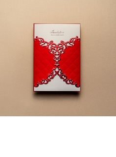 Artistic Style Wrap & Pocket Invitation Cards (Set of 50)