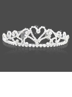 Cintillo(Amazing Clear Crystals Wedding Bridal Tiara (042004259))
