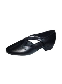 Women's Leatherette Real Leather Heels Ballroom Dance Shoes