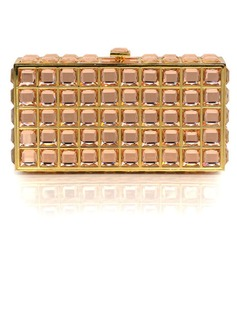 Unique Acrylic With Crystal/ Rhinestone/Metal Clutches/Evening Handbags (012028269)