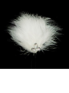 Gorgeous Feather Wedding Bridal Headpiece