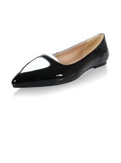 Real Leather Flat Heel Flats Closed Toe shoes