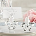 """Fleur-de-Lis"" Resin Place Card Holders (Set of 6) (051050526)"