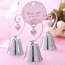 Wedding Bell Style Stainless Steel Place Card Holders (051025006)