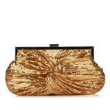 Gorgeous Sequin With Ruffles Clutches