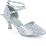 Sparkling Glitter Pumps Modern Dance Shoes (053021843)