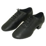 Real Leather Latin Ballroom Dance Shoes (053013322)