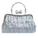 Shining Satin With Crystal/ Rhinestone/Sequin Wristlets