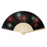 Elegant High quality paper/Bamboo Hand fan (Set of 4)