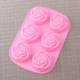 Rose Design Silicone Cake Mould