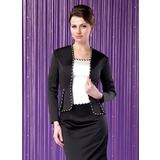 Long Sleeve Satin Special Occasion Wrap