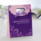 Romantic pattern style Favor Bags With Ribbons (Set of 12)