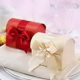 Treasure Chest Favor Boxes With Ribbons (Set of 12) (050024065)