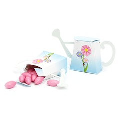 Watering Can Design Favor Boxes (Set of 12)