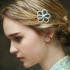 Simple Senior Plastic Beads Hairpins (Sold in single piece)