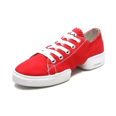 Women's Men's Cloth Sneakers Practice Dance Shoes