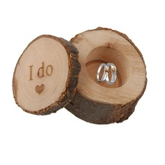 """I do""/Shabby Rustic Wood Favor Boxes/Gift Box"