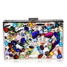 Unique Crystal/ Rhinestone Clutches/Luxury Clutches
