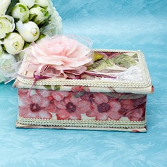 Beautiful Lace/Cardboard Women's Jewelry Box