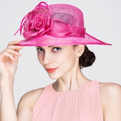 Ladies' Beautiful Spring/Summer Cambric With Bowler/Cloche Hat