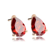 "Exquisite Copper/Platinum plating/""AAA"" Level Zircon Women's/Ladies' Earrings"