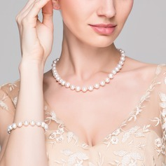"Elegant ""AA"" Pearl/Freshwater Pearls With Pearl Jewelry Sets"