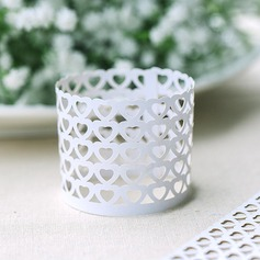 Heart Design Napkin Rings