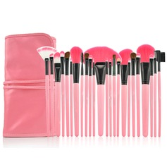 Professional Makeup Brushes With Pink Bag(24 Pcs ) (046024421)