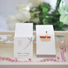 Personalized Love Design Hard Card Paper Matchboxes
