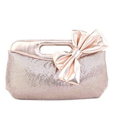 Elegant Patent Leather With Bowknot/Sequin Clutches