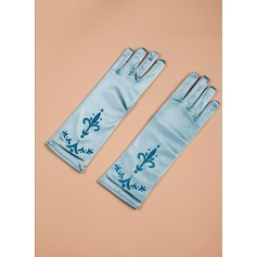 Satin Elbow Length Glove