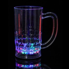 Color changing Plastic Beer glass