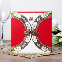 Asian Style Wrap & Pocket Invitation Cards