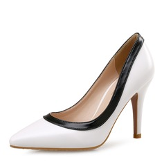 Women's Cloth Stiletto Heel Pumps Closed Toe shoes