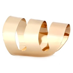 Beautiful Alloy Gold Plated Ladies' Fashion Bracelets
