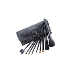 9 Pcs Black Makeup Brush Set  (046022878)