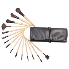 Top Wood Professional Makeup Brush (15 Pcs)