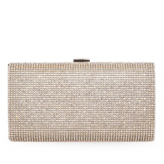 Charming Polyester With Rhinestone Clutches