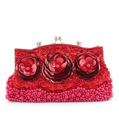 Gorgeous Imitation Pearl Clutches/Wristlets