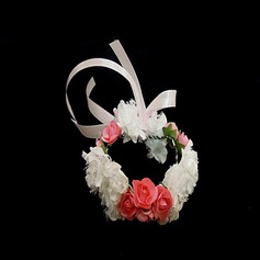 Simple And Elegant Round Paper Wrist Corsage