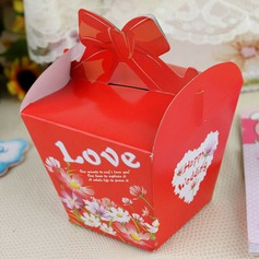 """Love"" Cuboid Favor Boxes (Set of 12)"